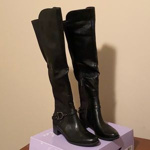 Never Worn Women's Black Riding Boots Size 8.5
